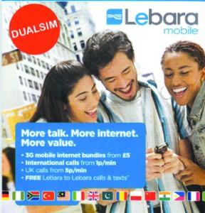 Lebara check data balance in die schweiz reisen